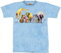 Welcome Back Zoo & Safari Animals T-Shirt by The Mountain M L XL