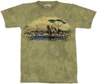 Gathering Place Zoo & Safari Animals T-Shirt M L XL