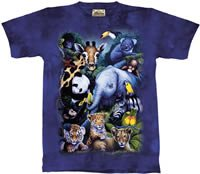 Rare Occasion Zoo & Safari Animals T-Shirt  M L XL
