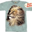Lion Head T-Shirt by The Mountain M L XL
