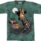 Roommates Giraffe T-Shirt by The Mountain M L XL