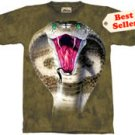 King Cobra Snake T-Shirt by The Mountain M L XL