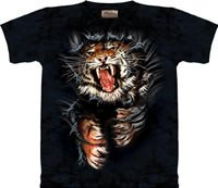 Breakthrough Tiger T-Shirt by The Mountain M L XL