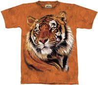 Power & Grace Tiger T-Shirt by The Mountain 2XL 3XL