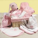 12 Pc Deluxe Pink Gift Basket