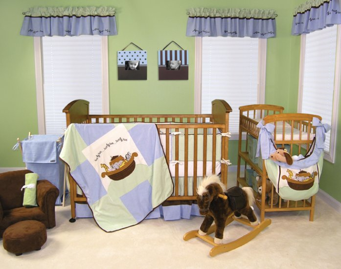 Noah's Ark 4pc Bedding Set