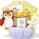 """""""Owl Always Love You"""" Personalized Baby Gift Basket"""
