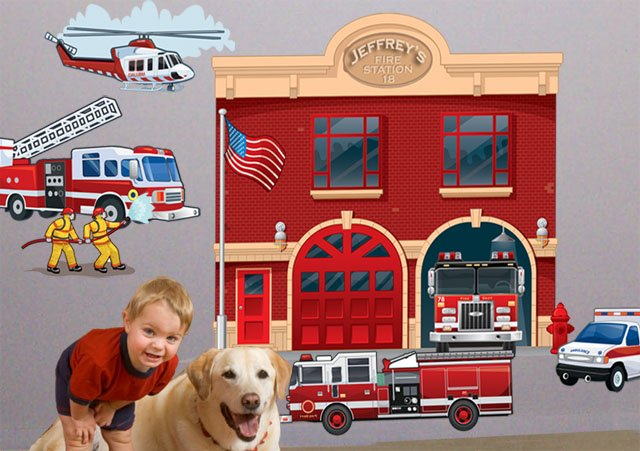Fire Station Mural