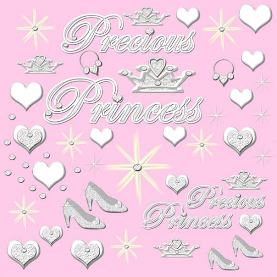 Precious Princess Girls Mural