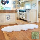 Premium Double Longwool Sheepskin Rug - Grey Mist
