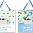 Dr. Seuss Oh! The Places You'll Go Blue 2pc Frame Set