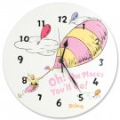 Dr. Seuss Oh! The Places You'll Go Pink Wall Clock