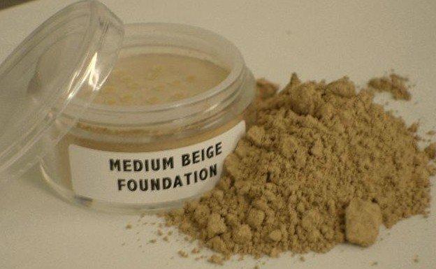 Mineral Makeup Foundation Lt. Medium Beige Full Size Jar