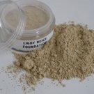 Mineral Makeup Foundation Light Beige Full Size Jar