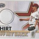 03 Leaf Roy Oswalt Shirt Off My Back Jersey Card #306/500