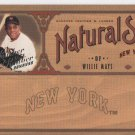 Willie Mays 05 Leather & Lumber Parallel Card #559/2000