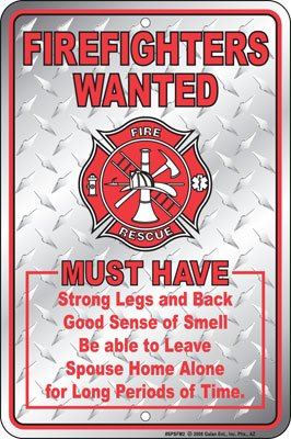 Free S H Firehouse Firefighter Sign Cute Firefighters Wanted