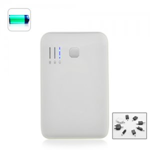 5000mAh Portable Battery Charger For Cell Phones, PSP, iPod, iPhone