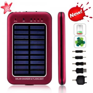 2600mAh Solar Battery Charger For Mobile Phones and Mini USB Devices
