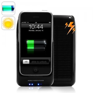 2 in 1 Solar Battery Charger Holder for 2G, 3G