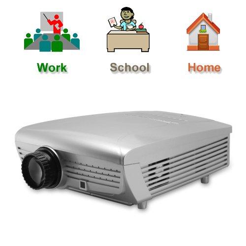 """Free Shipping - 5"""" LCD Projector w/ VGA, AV, TV Tuner Properties"""