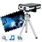 4gb Mini Portable Projector w/ Media Player, Remote, TF Card Slot