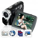 Digital Video Camcorder w/ Touchscreen (Dual SD Card Slots)