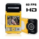 "60 FPS HD Camcorder - Hi-Res DV Camera w/ 2.0"" TFT LCD, 5 MP CMOS"