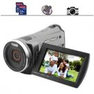 12MP 60 FPS HD Camcorder w/ 3 Inch Screen, Dual SD Card Slots