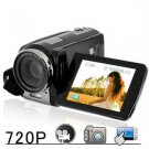 720P Touch Screen HD Camcorder - Hi-Def  DVR Camcorder w/ 20x Zoom