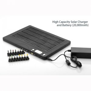 20,000mAh Solar Charger Battery For Phones, Laptops, Camcorders