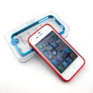 Cross Line Metal Bumper Case - iPhone 4 / 4S Aluminum Case