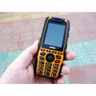 Jeep X7 Waterproof Mobile Phone - Dual Band Dual Standby Cell Phone - Saffron