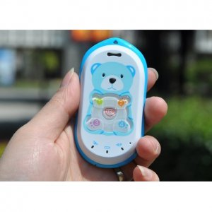 D302 Kids Cell Phone - Quad Band GPS Tracker Children's Mobile
