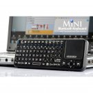 Wireless Rii Mini Qwerty Keyboard - Bluetooth Touchpad Keyboard with Laser Pointer