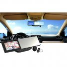 "5"" HD Touch Car Rearview Mirror - 720P GPS Bluetooth Vehicle DVR Video Recorder"