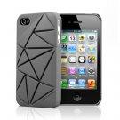 Urban Prefer Coin4 - iPhone 4 4S Silicone Back Case - Gray