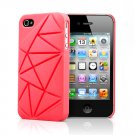 Urban Prefer Coin4 - iPhone 4 4S Silicone Back Case - Red