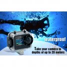 CubiCam 1080P Full HD Sport Camera - 20M Underwater Mini Sport DV