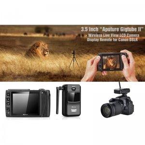 Aputure Gigtube Wireless II - Live Viewer Finder Camera for Canon DSLR