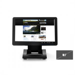 10.1 inch Touch Screen USB Monitor w/ Built-in Speakers, Plug & Play
