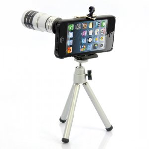 12x Zoom Telephoto Lens for iPhone 5