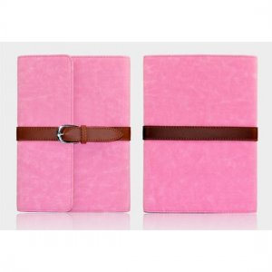 Flip Stand Leather Case For iPad Mini - Pink