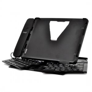 iPega Foldable Bluetooth keyboard for iPad 2 / New iPad 3 with 3.5m jack Handset