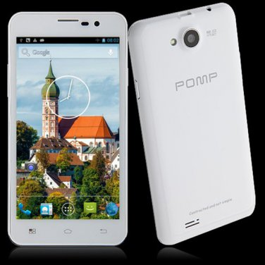 """Pomp King W99A  Android 4.2 Cell Phone - 5""""  Dual SIM Cards  MTK6589 Quad Core  Phone WiFi GPS"""
