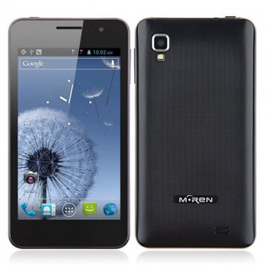 """Mingren A1 Android 4.2 Cell Phone - 5""""  Dual SIM Cards MTK6589M Quad Core Phone WiFi GPS"""