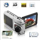 2.5 Inch Dual Camera  Car Driving Recorder -    15FPS 4GB 1080P HD Car DVR with Free Shipping