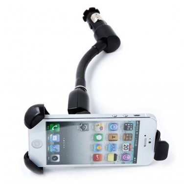 Wholesale  360 Degree Rotation Holder  - USB Car Power Charger  Stand  Free Shipping