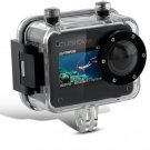 Cubicam 30 FPS 1080P HD Waterproof Sport Camera  -  Multi Mount  Camcorder  HDMI