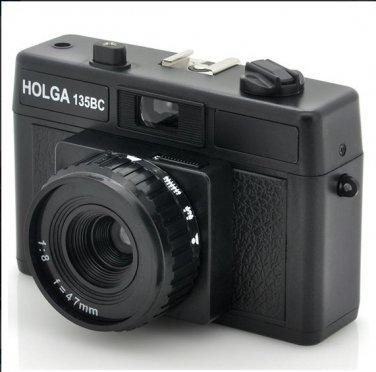 Wholesale Holga Black Corner Effect Plastic Cam  -  135BC 35mm Film Camera